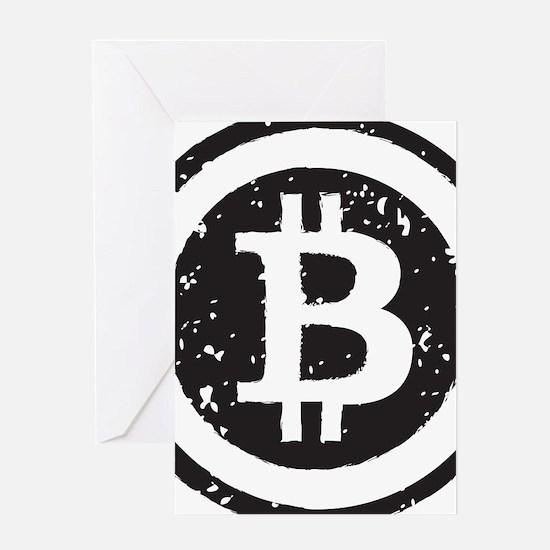 bitcoin5 Greeting Cards