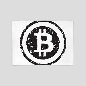bitcoin5 5'x7'Area Rug