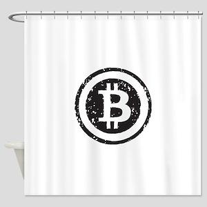 bitcoin5 Shower Curtain