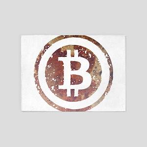 bitcoin6 5'x7'Area Rug