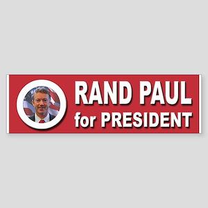 Rand Paul for President 2016 Sticker (Bumper)