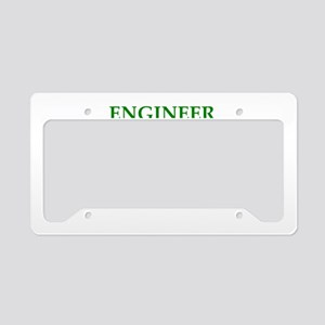 ENGINEER1 License Plate Holder