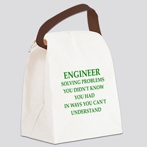 ENGINEER1 Canvas Lunch Bag
