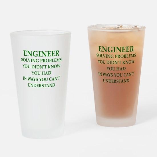 ENGINEER1 Drinking Glass