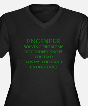 ENGINEER1 Plus Size T-Shirt