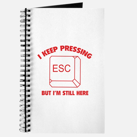 I Keep Pressing ESC But I'm Still Here Journal