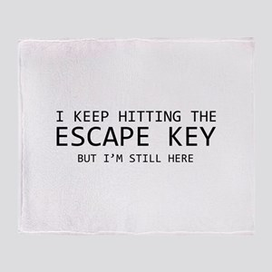 I Keep Hitting The Escape Key But I'm Still Here S
