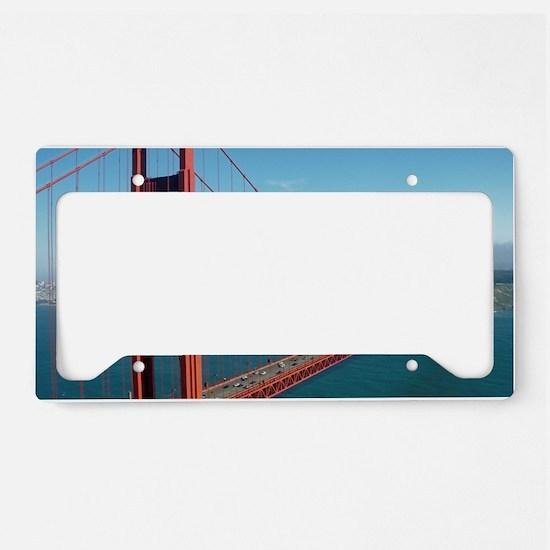 Golden Gate Bridge 020 License Plate Holder