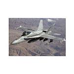 F-18 Hornet Rectangle Magnet (10 pack)