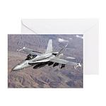 F-18 Hornet Greeting Cards (Pk of 10)