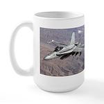 F-18 Hornet Large Mug