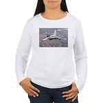 F-18 Hornet Women's Long Sleeve T-Shirt