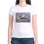F-18 Hornet Jr. Ringer T-Shirt