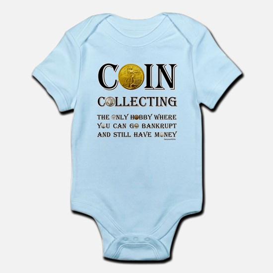 Coin Collecting Infant Bodysuit