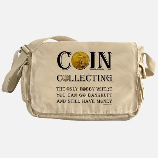 Coin Collecting Messenger Bag