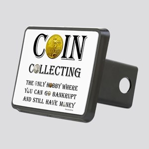 Coin Collecting Rectangular Hitch Cover