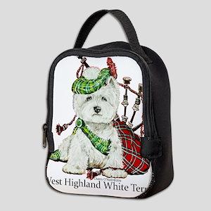 Highland Westie Neoprene Lunch Bag