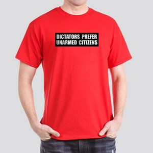 Dictators Prefer Dark T-Shirt