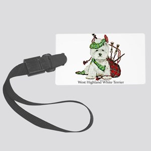 Highland Westie Luggage Tag