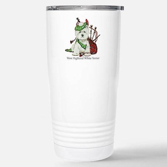 Highland Westie Travel Mug