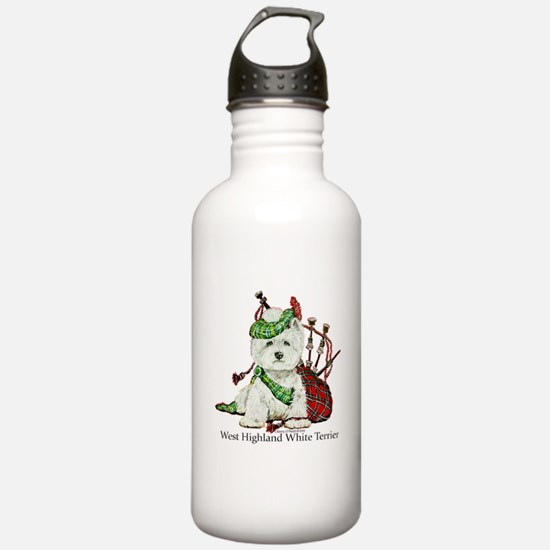 Highland Westie Water Bottle