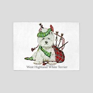 Highland Westie 5'x7'Area Rug