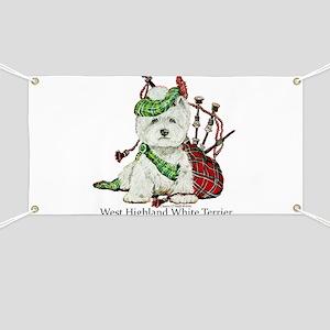 Highland Westie Banner