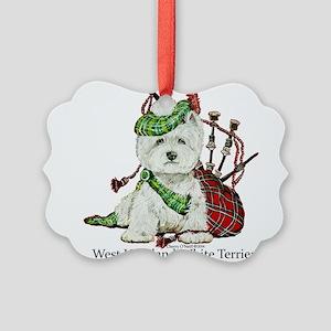 Highland Westie Ornament