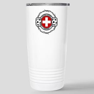 Switzerland Soccer Stainless Steel Travel Mug