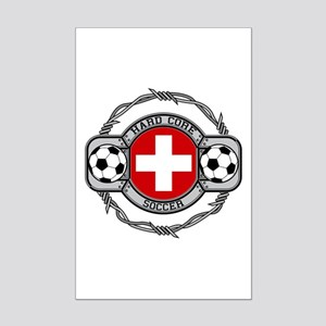 Switzerland Soccer Mini Poster Print