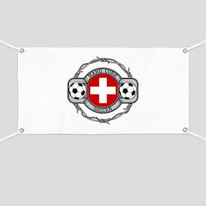Switzerland Soccer Banner