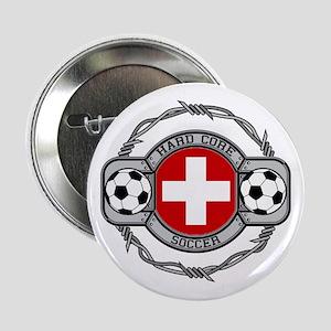 """Switzerland Soccer 2.25"""" Button"""