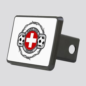 Switzerland Soccer Rectangular Hitch Cover