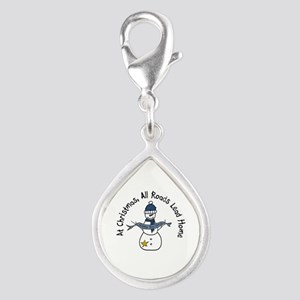 At Christmas All Roads Lead Home Charms
