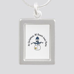 At Christmas All Roads Lead Home Necklaces