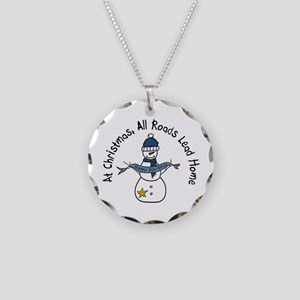 At Christmas All Roads Lead Home Necklace