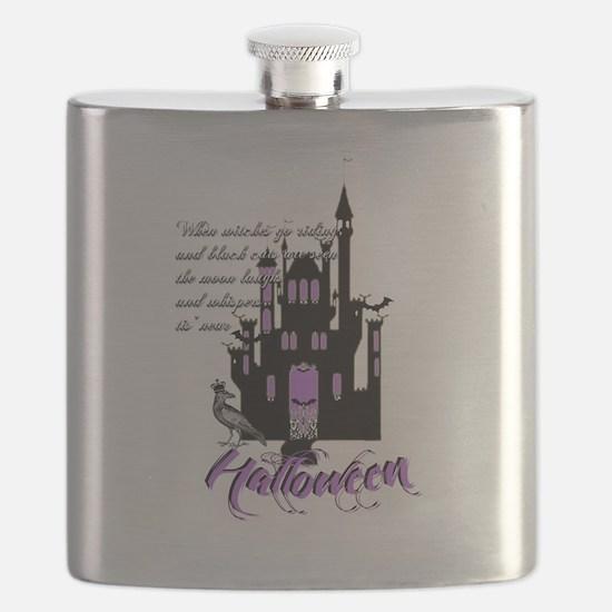 Unique House haunted Flask