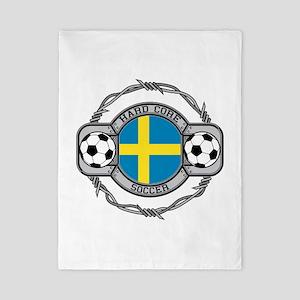 Sweden Soccer Twin Duvet