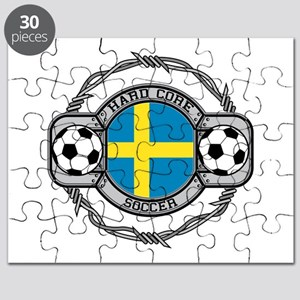 Sweden Soccer Puzzle