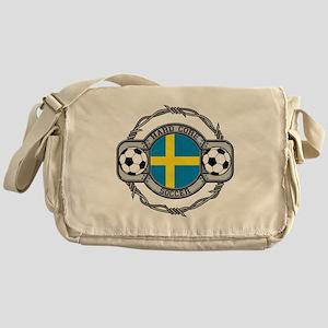 Sweden Soccer Messenger Bag