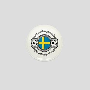 Sweden Soccer Mini Button (10 pack)