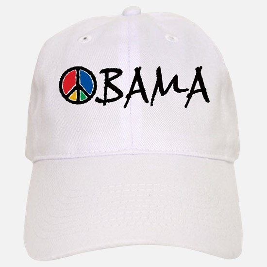Obama Peace Baseball Baseball Cap