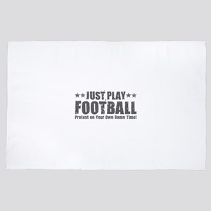 Just Play Football 4' x 6' Rug