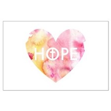 Hope in Jesus Large Poster