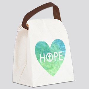 Hope in Jesus Canvas Lunch Bag