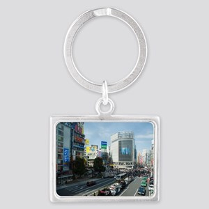 shibuya crossing Landscape Keychain