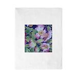 Watercolor blossoms Twin Duvet