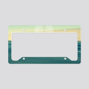 Row Your Own Boat License Plate Holder