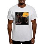 Loki and Sigyn T-Shirt (Ash Grey)