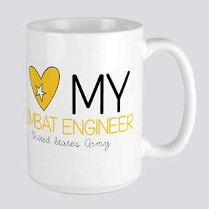 I Love My Combat Engineer Mugs